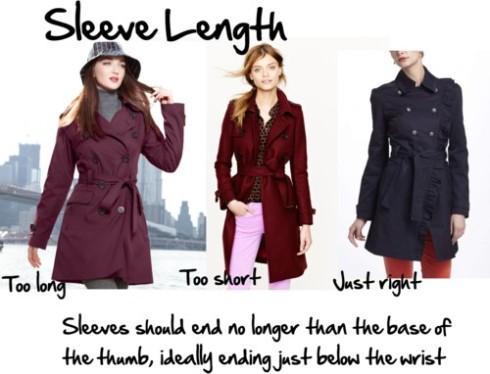 coat lengths