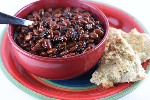 slow cooker bourbon baked beans