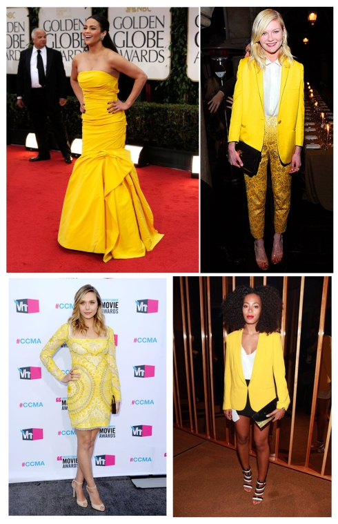 yellow-fashion-paula-patton-kirsten-dunst-ashley-olsen-solange