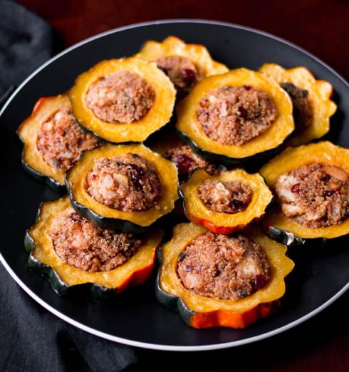 quinoa_stuffed_acorn_squash_rings_recipe