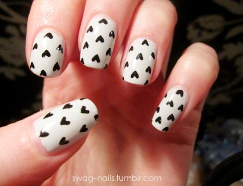 valentine nails 3